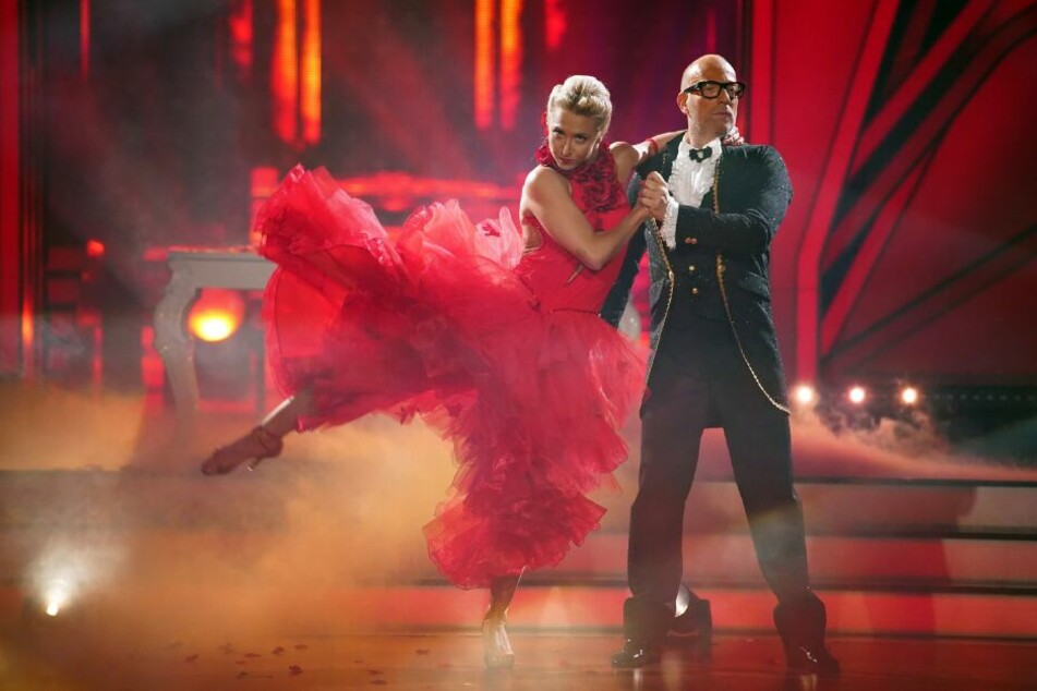 Thomas Rath und Kathrin Menzinger mussten nach ihrem Tango die Show verlassen.