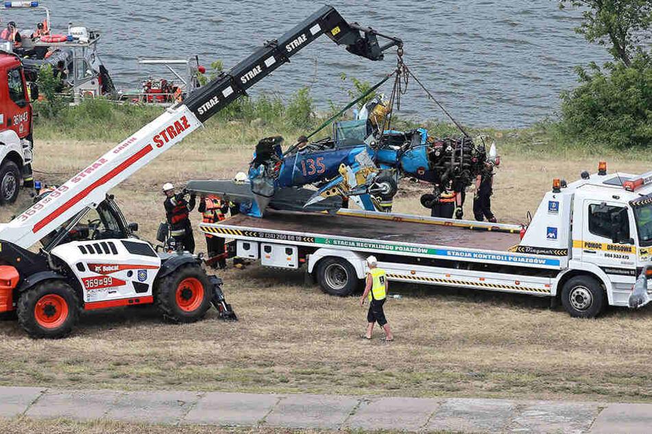 Das Opfer war ein erfahrener Pilot und hatte dennoch keine Chance zu überleben.