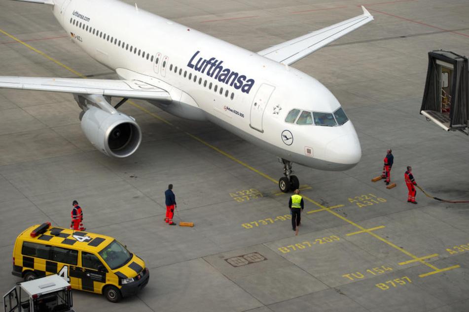 Ein A320 der Lufthansa.