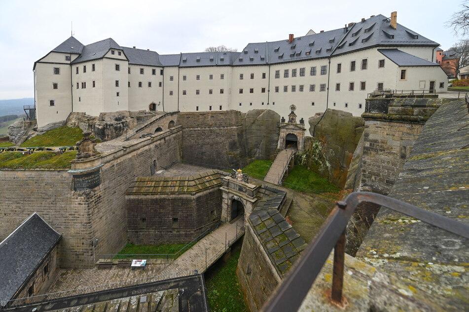 Die Festung Königstein im Elbsandsteingebirge will endlich wieder Besucher empfangen.