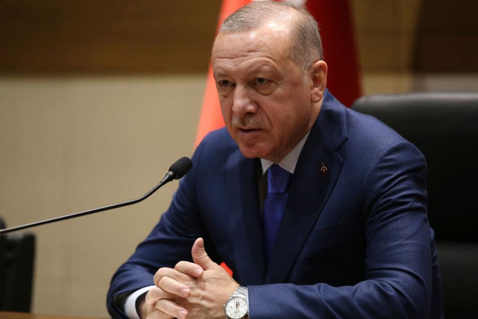 Ist für seine sehr konservative Einstellung zur Rolle der Frau bekannt: Präsident Recep Tayyip Erdogan.