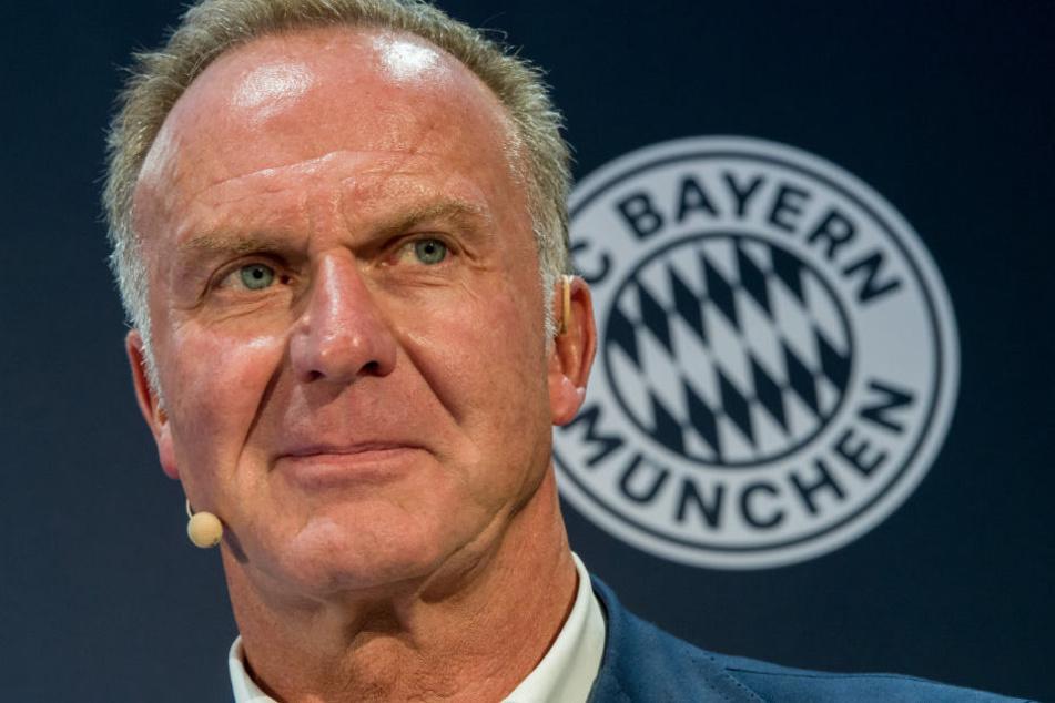 Karl-Heinz Rummenigge äußerte sich zur Wechselabsicht von Jérôme Boateng.
