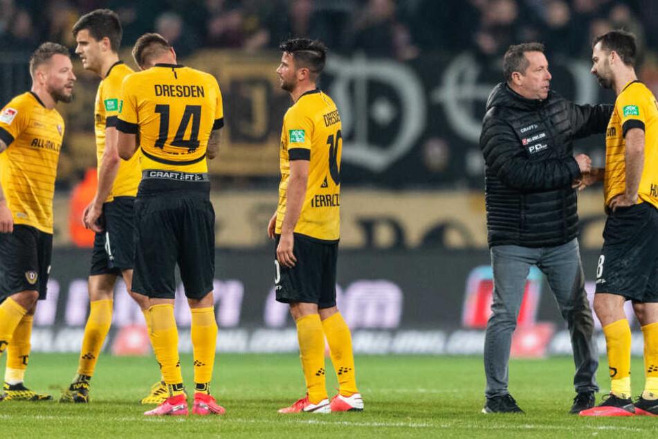 Die 2:3-Niederlage von Dynamo Dresden hat auch nach dem Einspruch Bestand.
