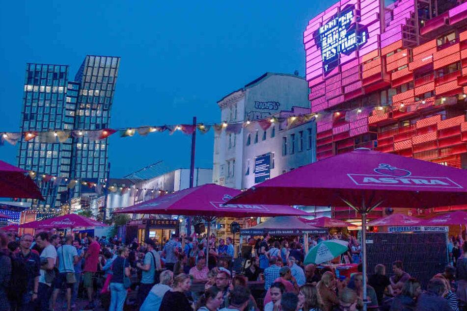 Vom 19. bis 22. September kamen mehr als 45.000 Besucher zum Reeperbahn-Festival.