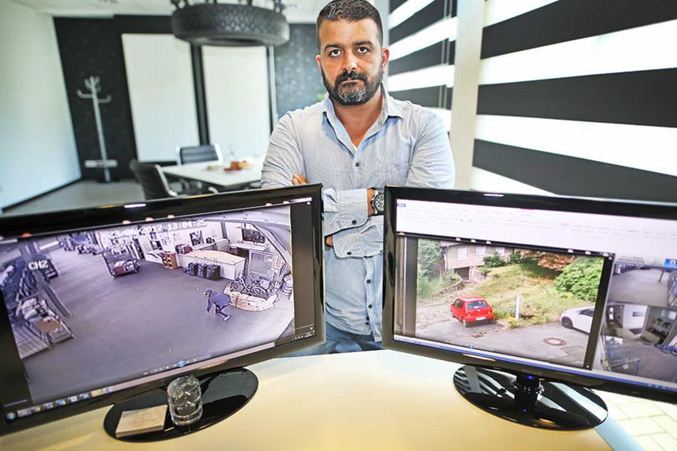 Serkan Sassacar (49) ermittelte einen Dieb selbst und nahm ihn fest.