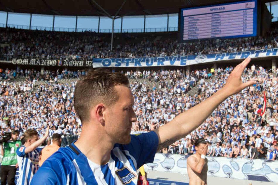 Julian Schieber wird Hertha nach vier Jahren verlassen.