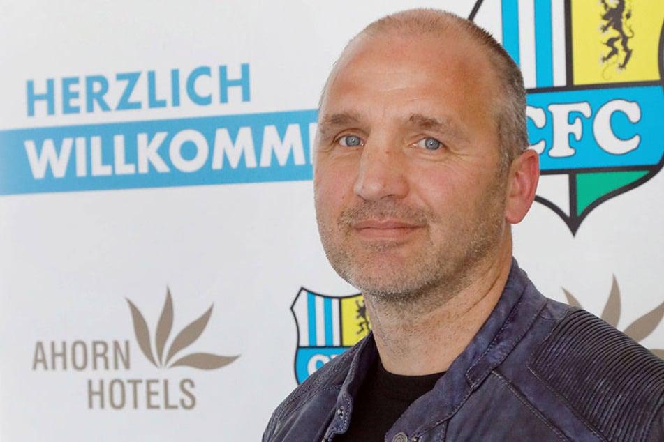 Der neue Sportvorstand Steffen Ziffert (52) stellte sich am Dienstag vor.