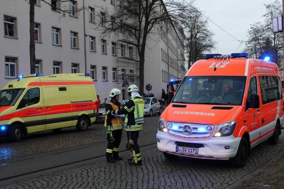 In Leipzig-Mockau ist es am Freitag zu einem Großeinsatz der Feuerwehr gekommen.