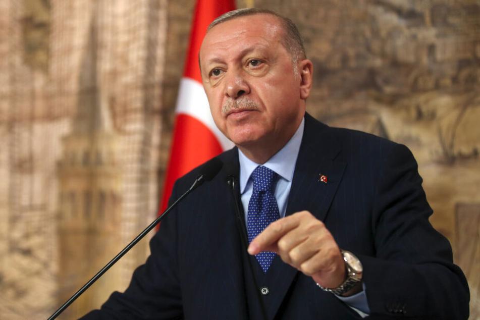 Recep Tayyip Erdogan, Präsident der Türkei, missbrauche das Leid der flüchtenden Menschen.
