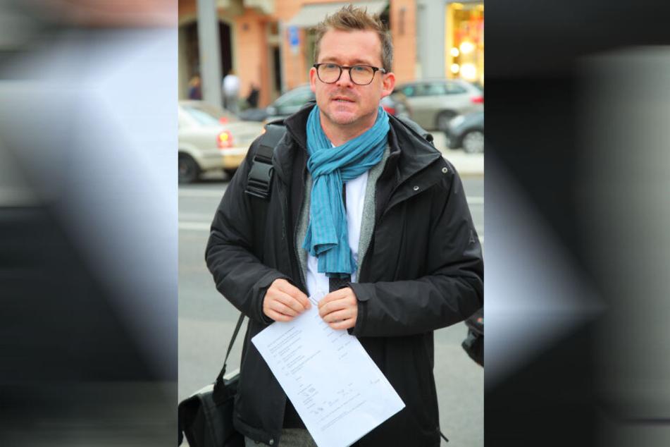 Verkehrsbürgermeister Raoul Schmidt-Lamontain (42, Grüne) hatte der Öffentlichkeit im Rathaus schon zwei Anbieter präsentiert.