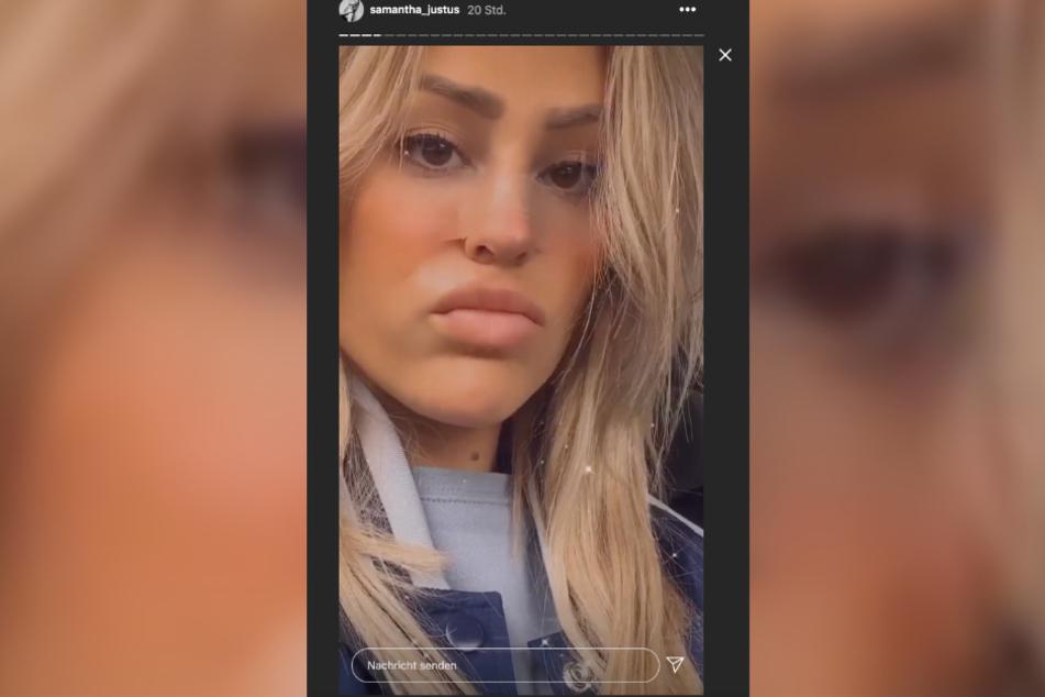 Samantha Justus (30) ist angewidert von den Nachrichten, die ihr viele Männer auf Instagram schicken.