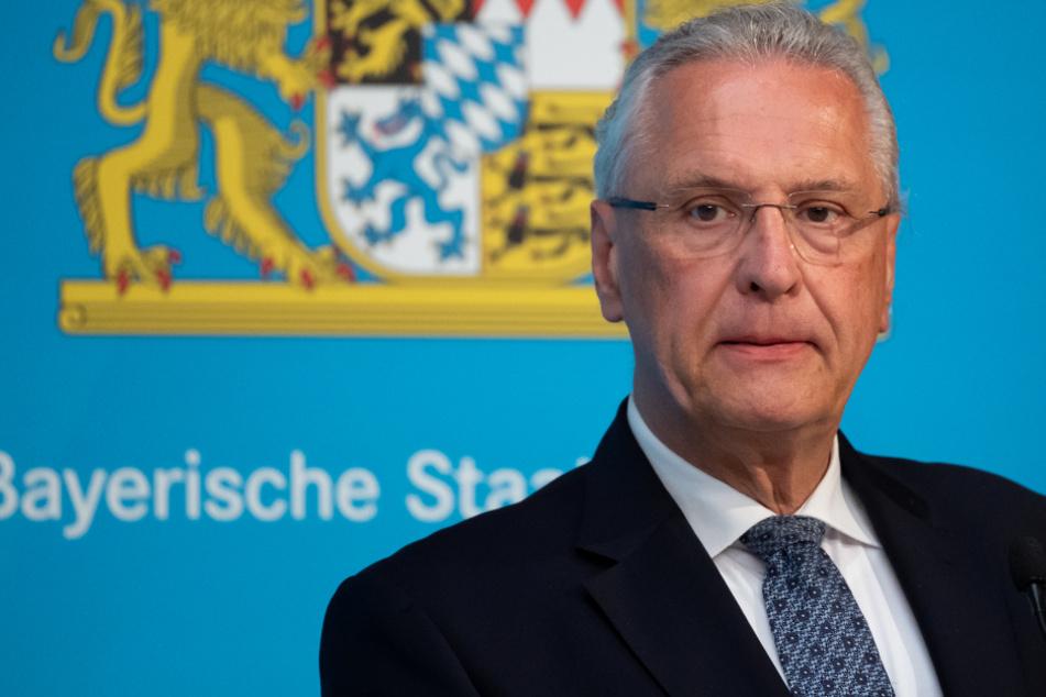 Joachim Herrmann (CSU), Innenminister von Bayern.