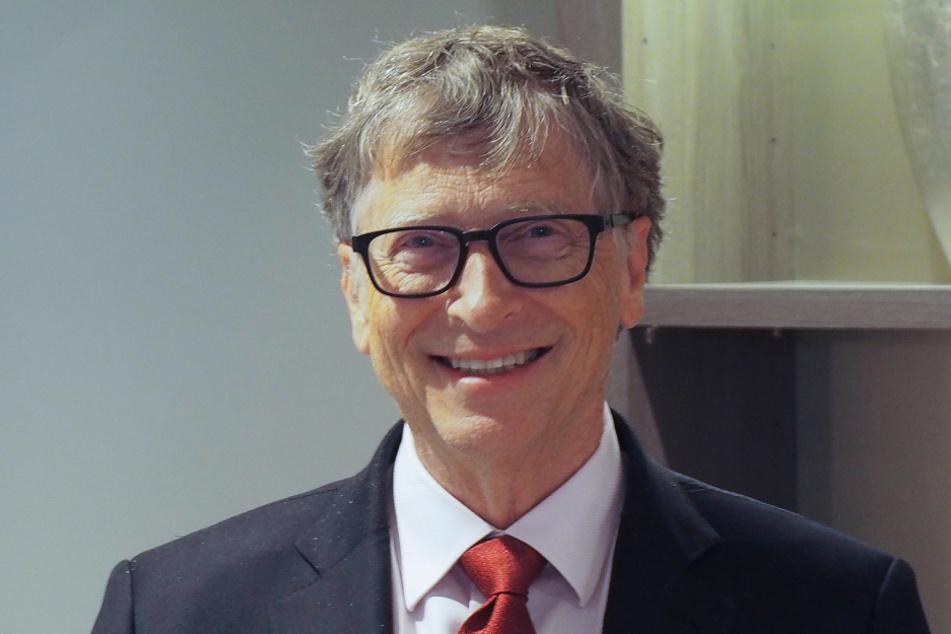 Freut sich über seine erste von zwei Impfungen: Bill Gates (65).