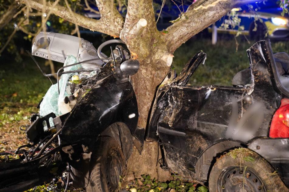 21-Jähriger prallt mit seinem Fahrzeug gegen Baum: Beifahrerin stirbt