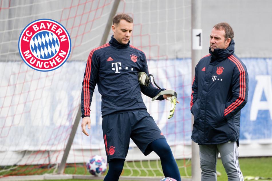 FC Bayern: Hansi Flick spricht Machtwort in der Torwart-Frage!