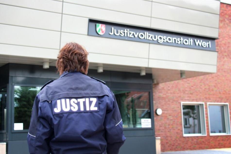 Der Straftäter saß im Sicherheitstrakt der JVA Werl ein.