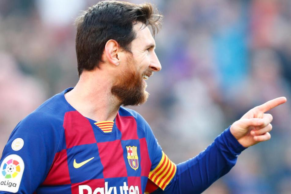 Sind die vier Treffer von Lionel Messi auch ein Fingerzeig, das mit Barcelona in der Champions League zu rechnen ist?