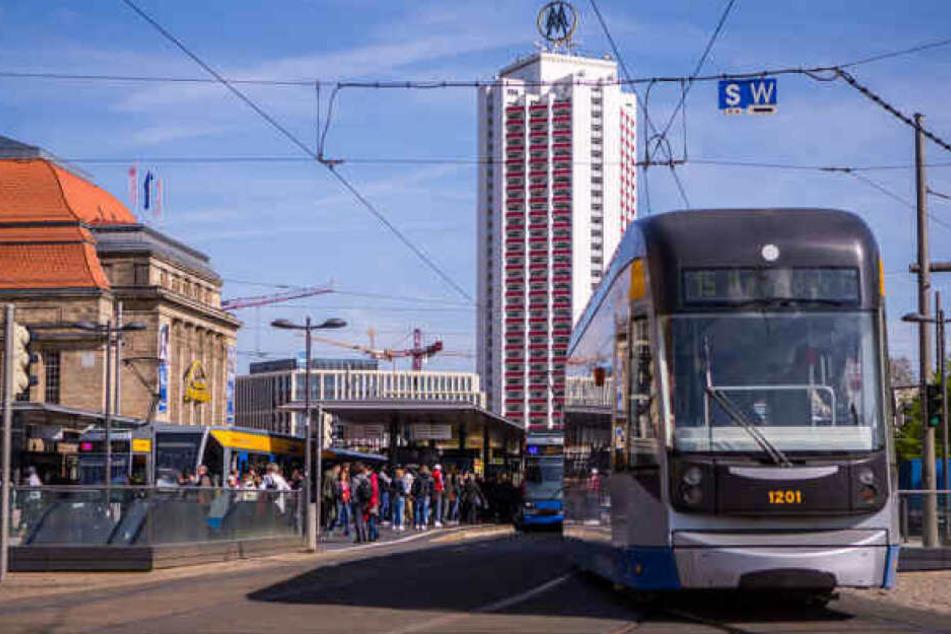 Am Hauptbahnhof in Leipzig ist es am Donnerstagmorgen zu einem schweren Unfall gekommen. (Archivbild)
