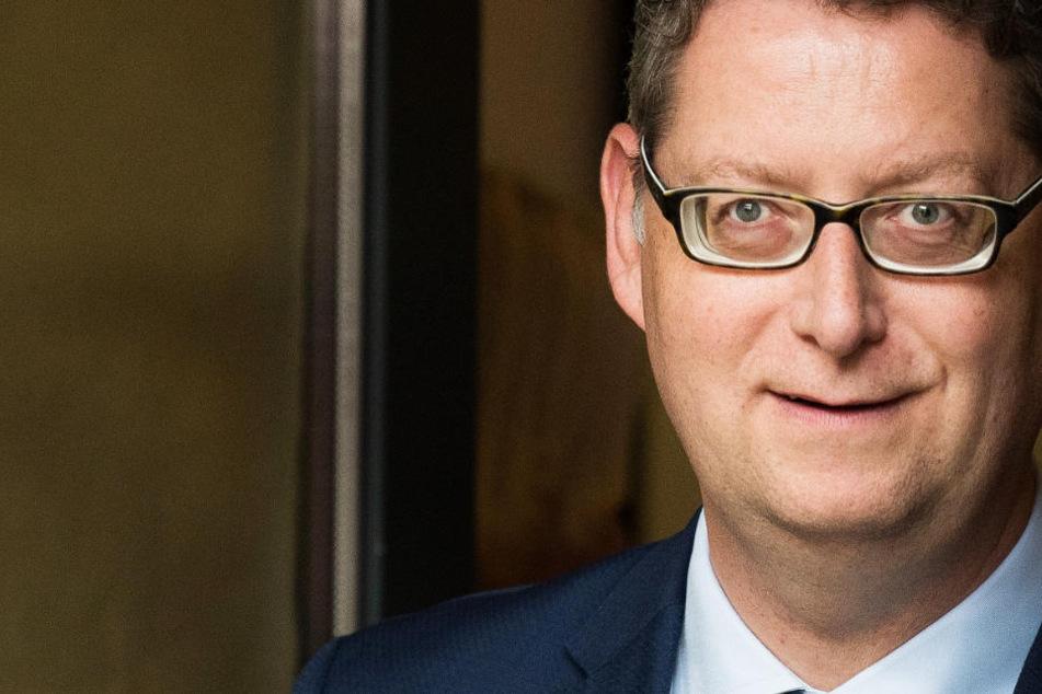 Thorsten Schäfer-Gümbel, hier am 15. September 2018 vor Beginn des offiziellen Wahlkampfauftaktes der SPD Hessen, will dass seine Partei bei den Wählern wieder punktet.