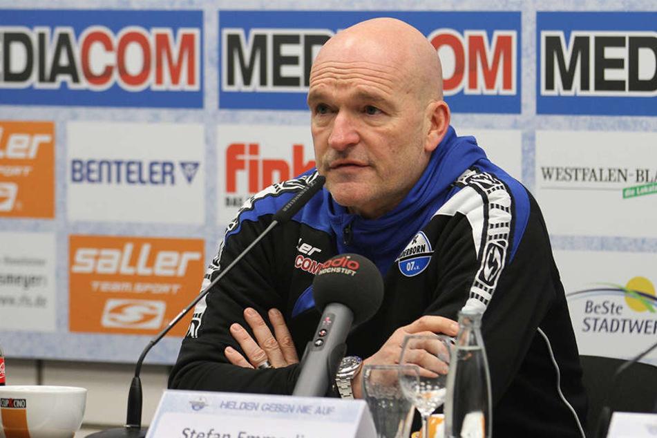 Stefan Emmerling glaubt an sein Team.