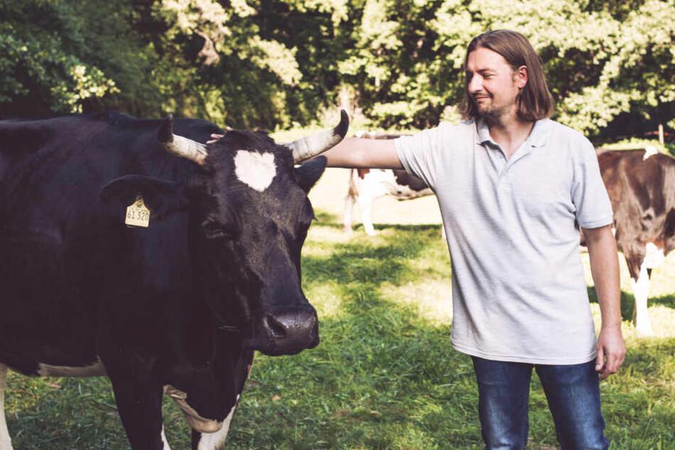 Sven liebt Kühe und Klimaschutz ist ihm wichtig.