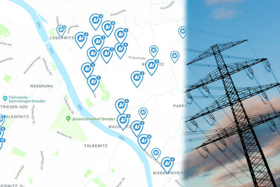 Stromausfall in Dresden! Gut 4000 Haushalte betroffen