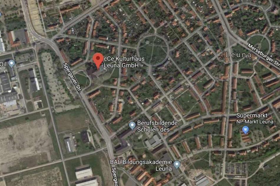 Der Vorfall ereignete sich im Kulturhaus Leuna an der Spergauer Straße.