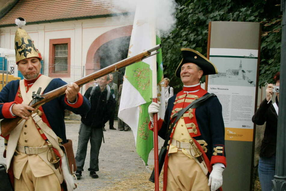 Die Schlacht um Maxen wird realistisch dargestellt.