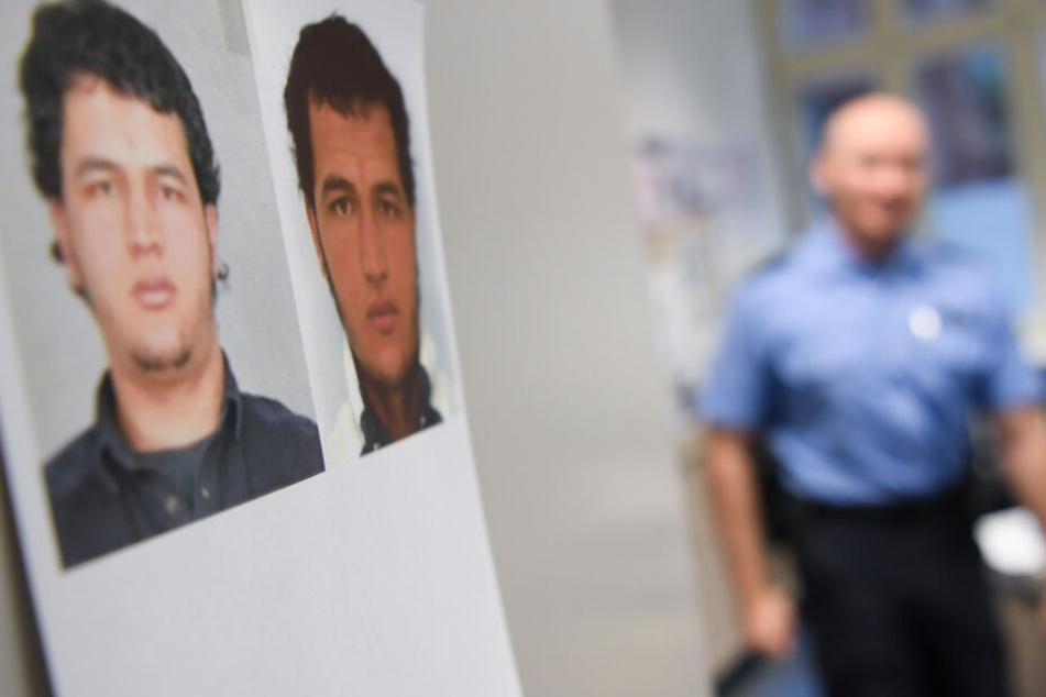 Fahndungsfotos des damals im Zusammenhang mit dem Terroranschlag von Berlin gesuchten Tunesiers Anis Amri.