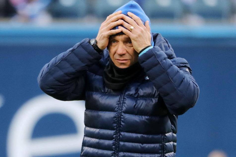 Hat Trainer Horst Steffen noch eine Chance beim CFC.