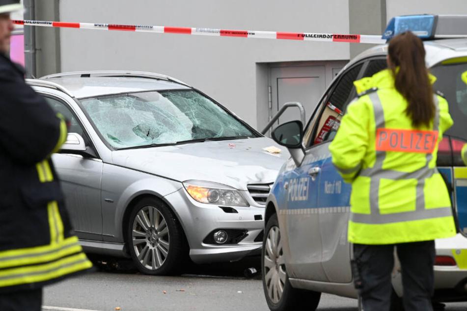 Der Autofahrer wurde kurz nach der Tat festgenommen.