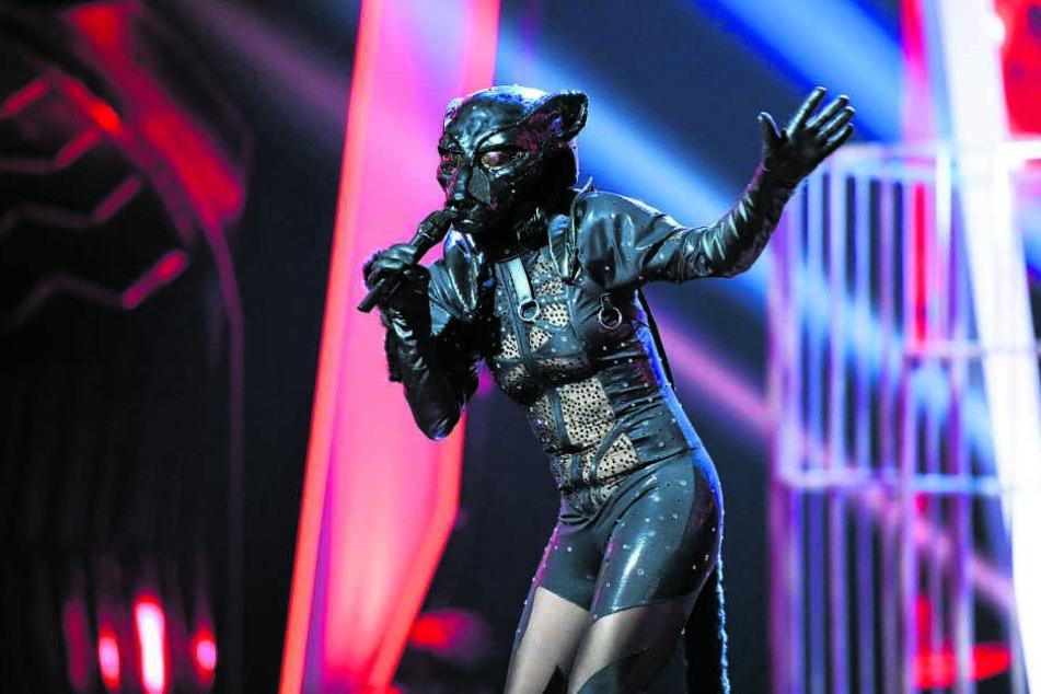 """Rarrr! Bei """"The Masked Singer"""" gab Stefanie Hertel die geheimnisvolle Raubkatze."""
