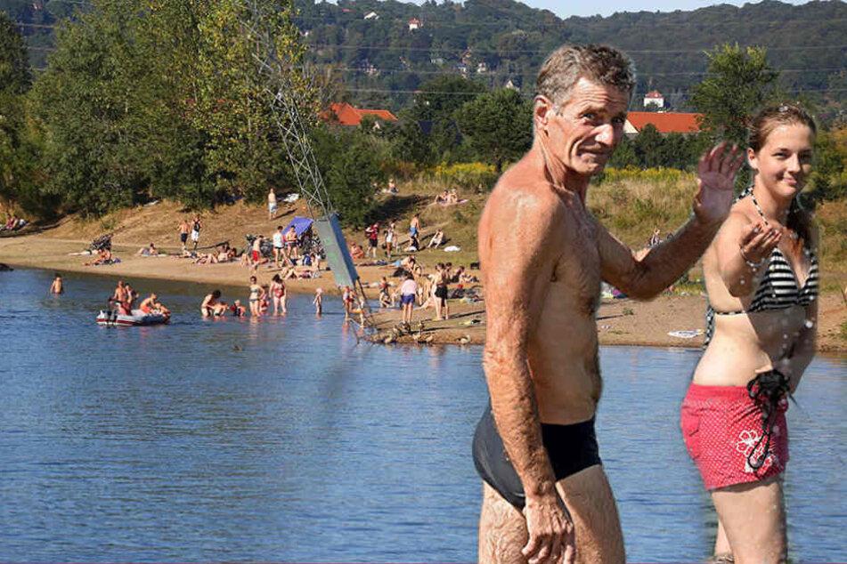Vier Ertrunkene: Traut ihr euch noch in den Todes-See von Leuben?