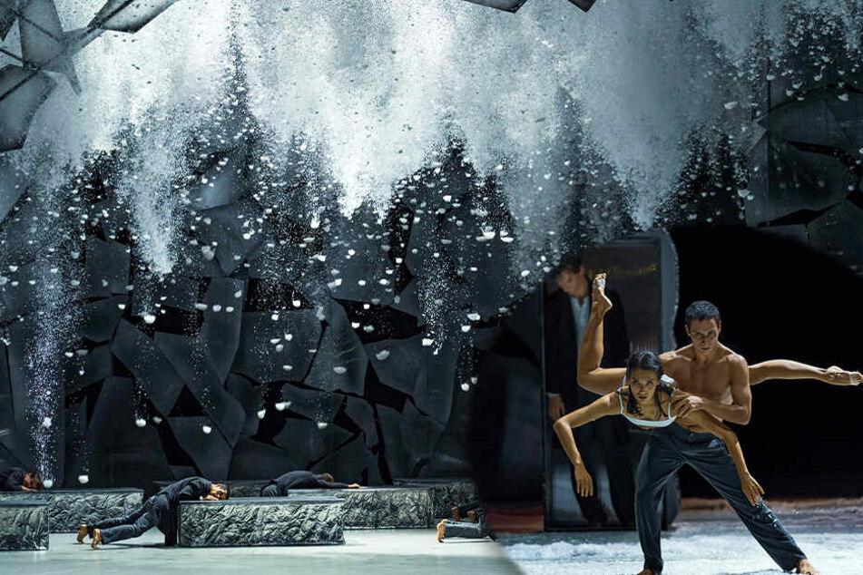 """Ein kühler Ballett-Traum: Chemnitzer """"Winterreise"""" endet in Standing Ovations"""