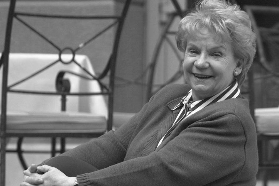 Der IaF-Star Ingeborg Krabbe wurde 85 Jahre alt.