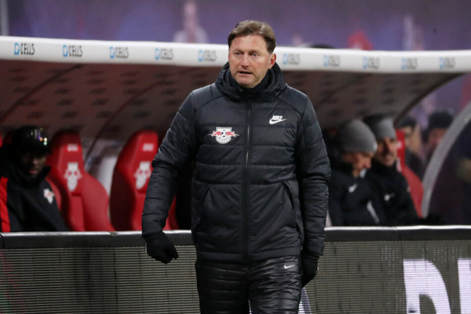 Konnte es nicht fassen: RB Leipzigs Trainer Ralph Hasenhüttl musste trotz 1:0-Halbzeitführung eine 1:2-Pleite gegen Köln hinnehmen.