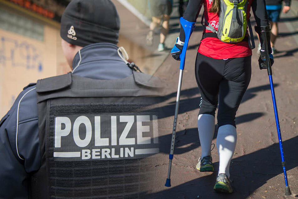 Am Donnerstagabend hat eine Frau einen Räuber mit Krücken in die Flucht geschlagen. (Symbolbild)