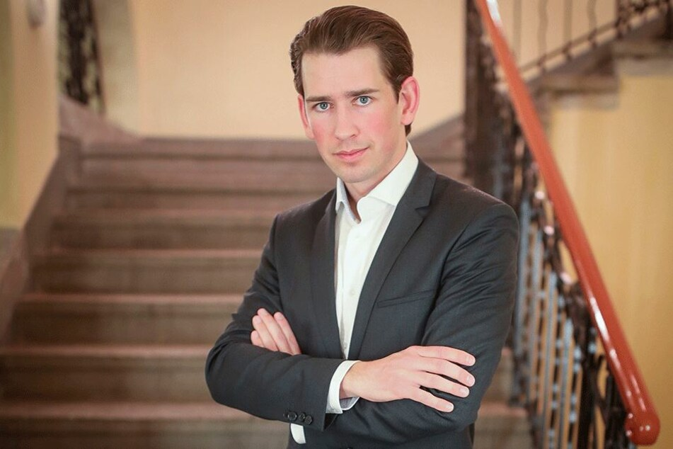 Kanzlerkandidat Sebastian Kurz (31, ÖVP).