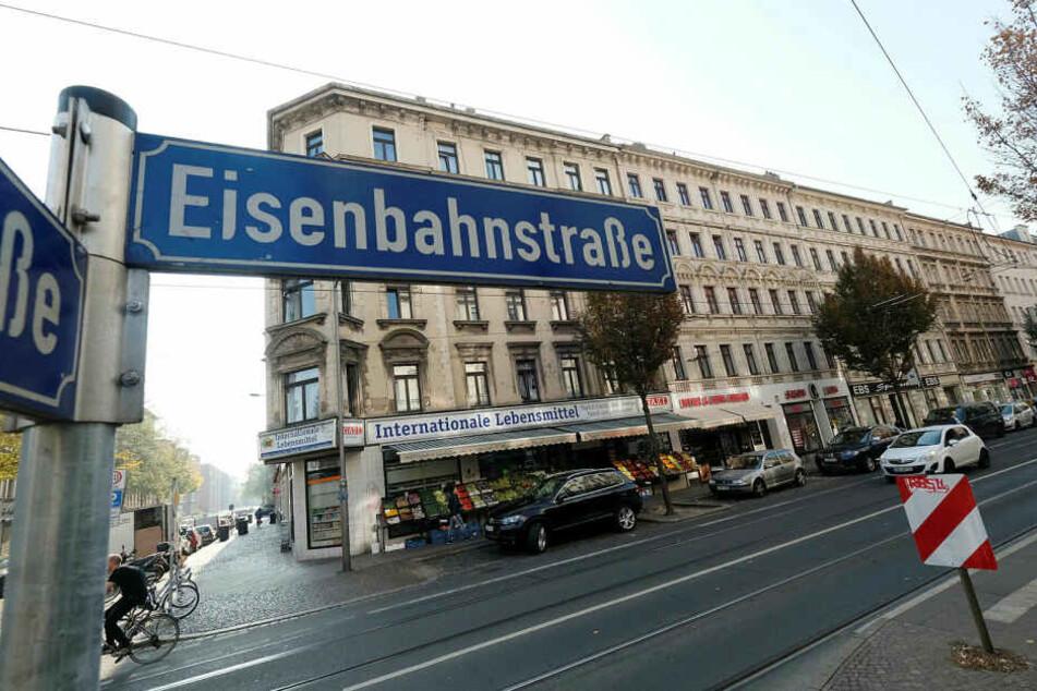 Der Vorfall ereignete sich in einem Lokal auf der Leipziger Eisenbahnstraße.