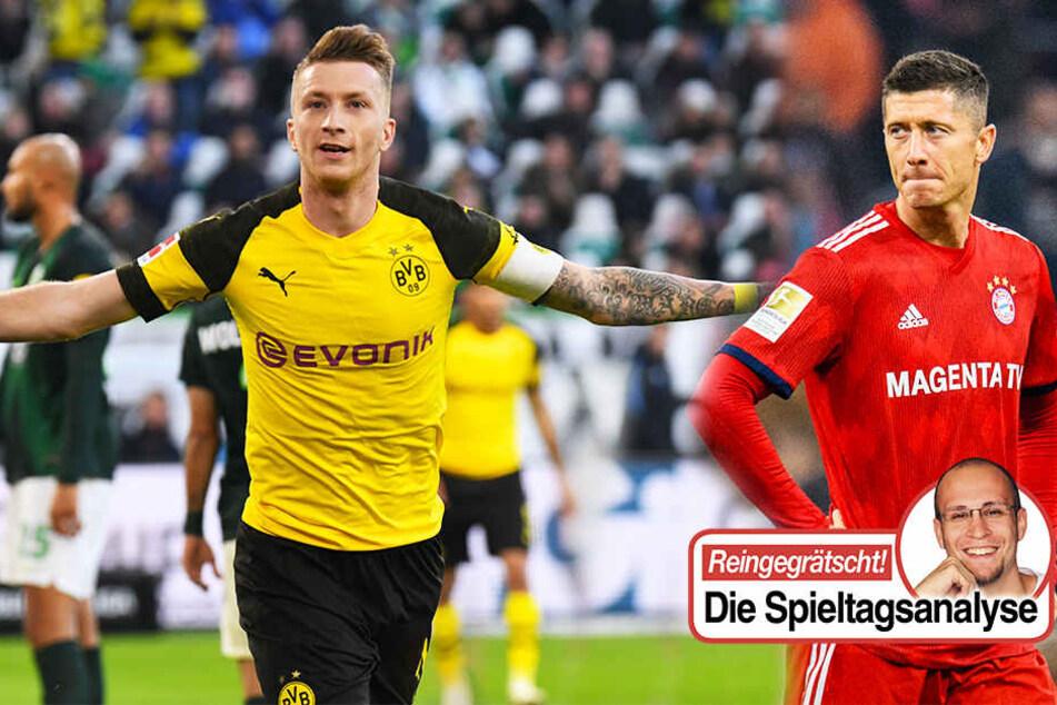 Warum Bayern eine Heimkrise hat, der BVB abgeht und der VfB in der Krise steckt