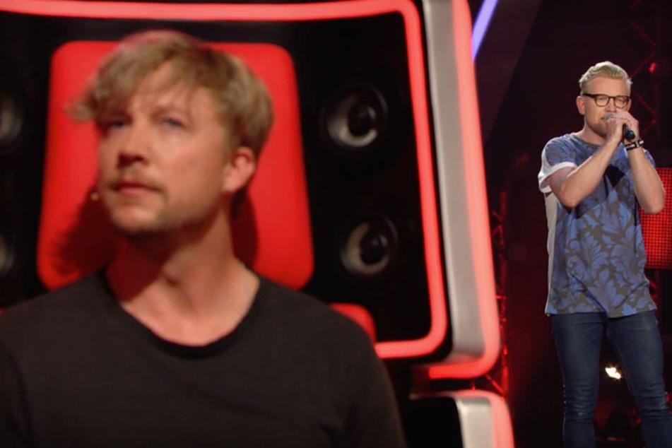 Während seines Auftritts genoss Samu Haber die Stimme von Simon.
