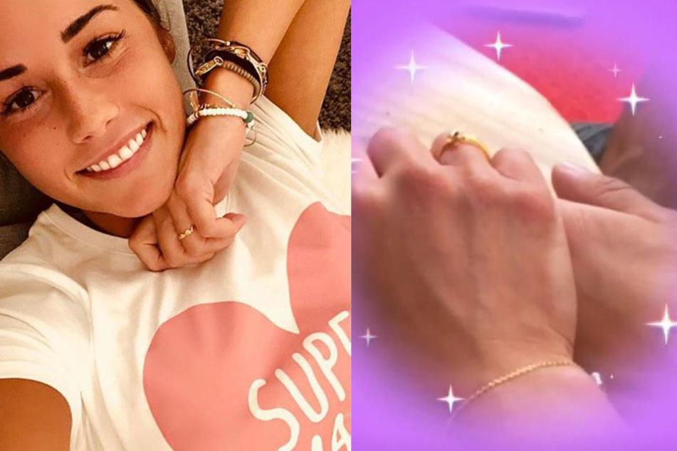 Ring am Finger: Heimliche Verlobung bei Sarah Lombardi?