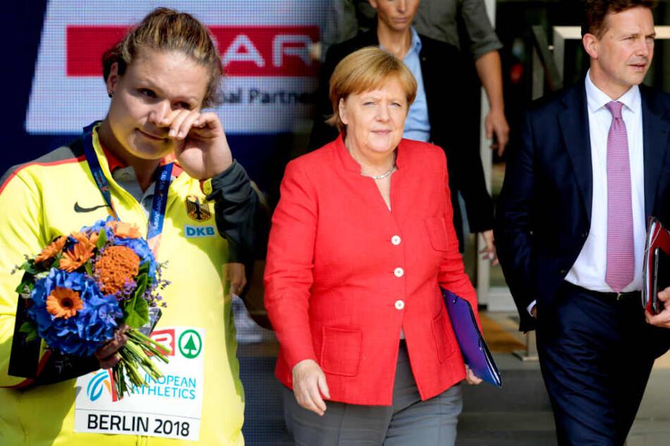 Leichtathleten kritisieren Merkel nach EM: Jetzt wehrt sich die Bundesregierung