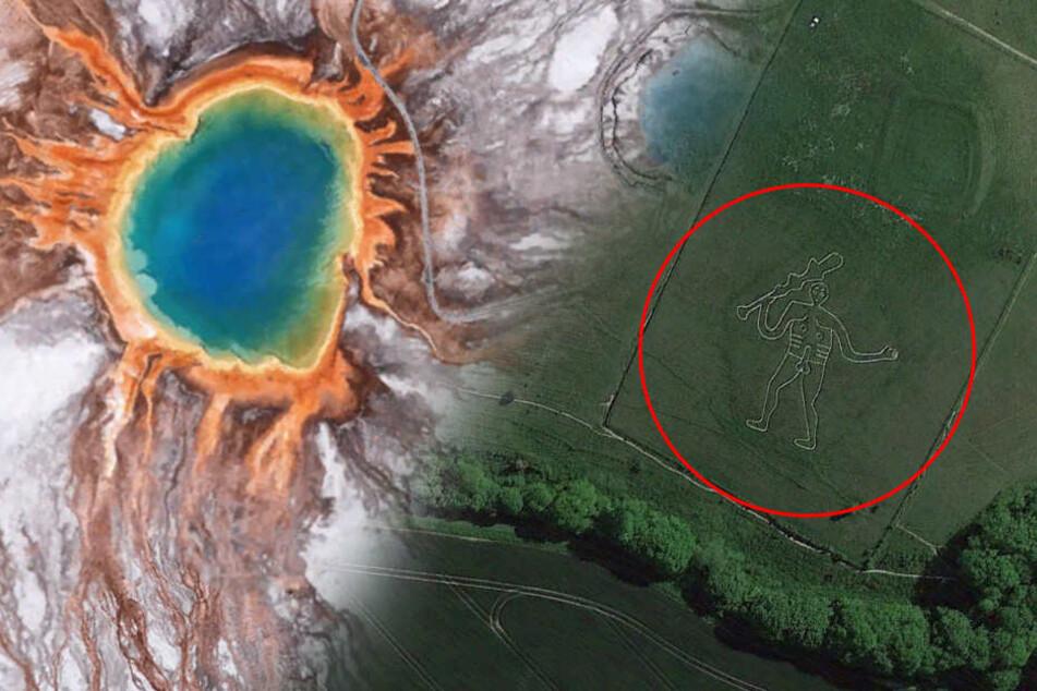 Das sind die verrücktesten Orte, die du auf Google Earth entdecken kannst
