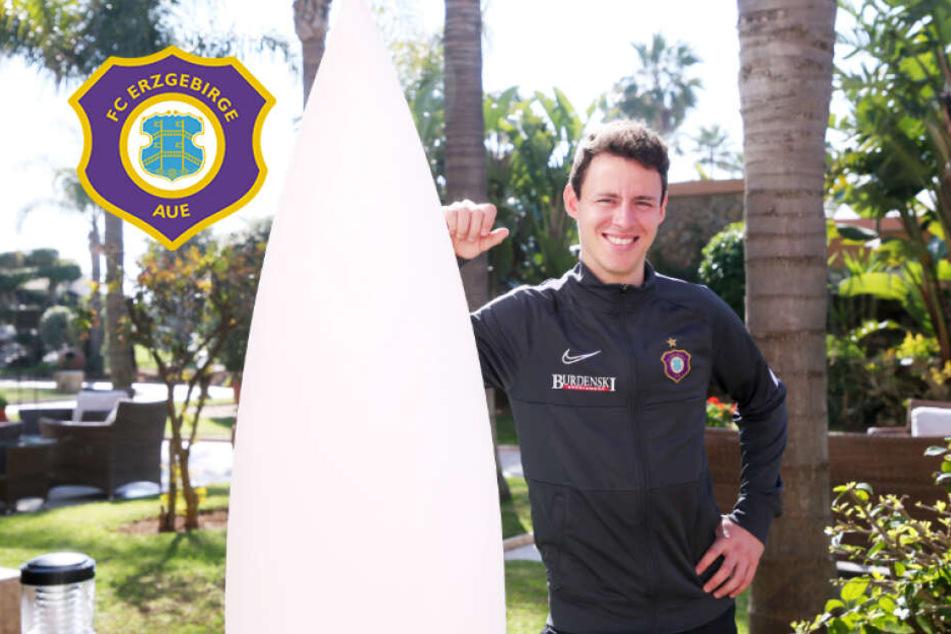 """Feliz cumpleanos! Aue-Kicker Fandrich feiert im Camp: """"Wie jedes Jahr..."""""""
