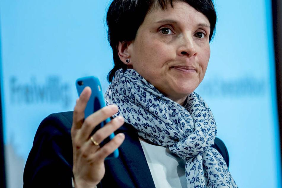 Keine Spitzen-Kandidatin! AfD-Chefin Frauke Petry wirft hin
