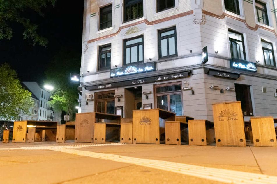 Das Restaurant wurde in der Nacht zu Sonntag Schauplatz eines Überfalls.