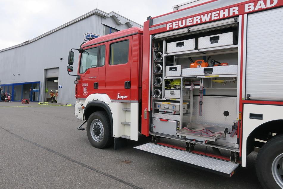Die Feuerwehr Bad Schlema musste am Freitagmorgen zu einem Werkhallenbrand ausrücken.