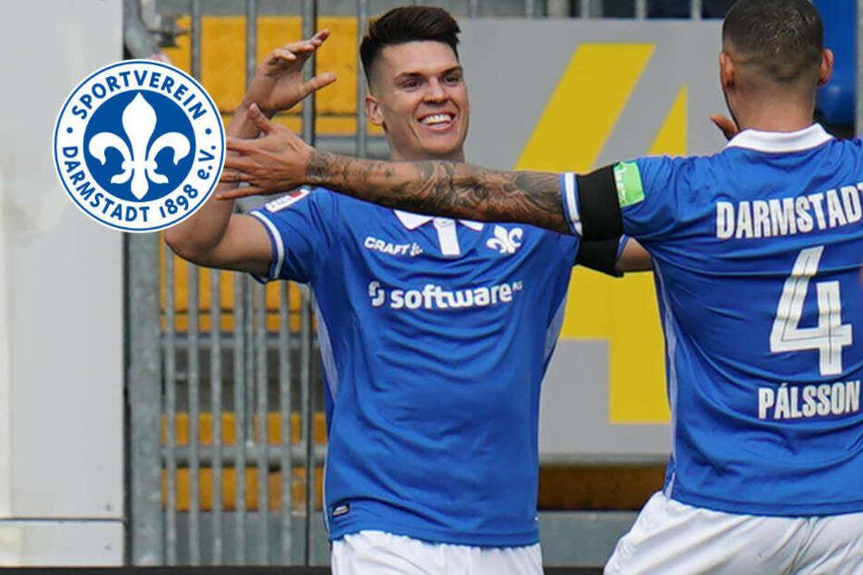 Lilien im Sieges-Rausch: SV Darmstadt 98 schlägt auch den 1. FC Heidenheim