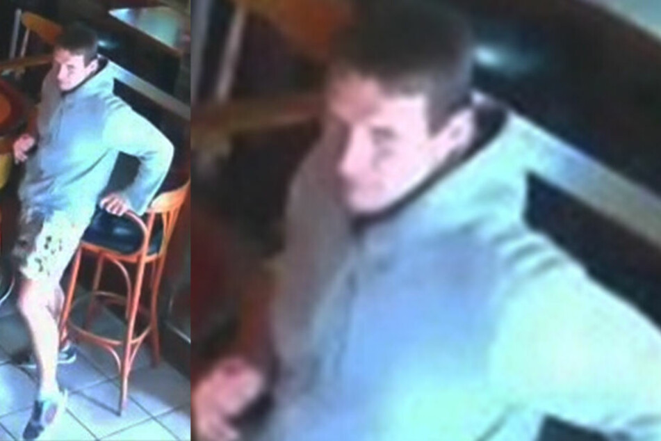 Die Polizei veröffentlichte dieses Standbild aus dem Video einer Überwachungskamera.